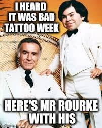 Tattoo Fantasy Island Meme - welcome to fantasy island bad tattoo week imgflip