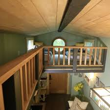 tiny houses minnesota great use of high ceiling space to make spare guest bedroom