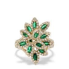 yellow gold diamond rings effy jewelry women s rings