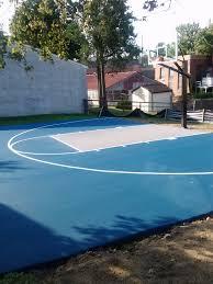 45 u0027 x 30 u0027 basketball court backyard b ball court pinterest
