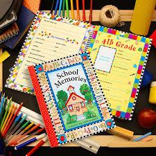 photo album scrapbook deluxe school memories keepsake photo album scrapbook