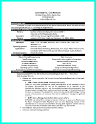 Professor Resume Sample by Assistant Professor Resume Computer Science Free Resume Example
