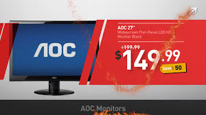 black friday sale on monitors aoc monitors cyber monday deals 2016 youtube