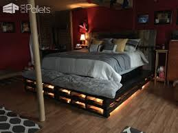 wood pallet bed frame genwitch