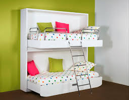 furniture irresistible wall mounted bunk beds for small bedroom