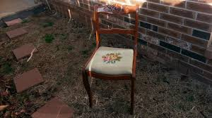 Craigslist Furniture Okc by Sold Vintage Tell City Chair Co Carved Rose Back Antique