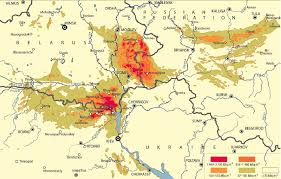 Nuclear Fallout Map by Health Effects Of Chernobyl 25 Years After The Reactor
