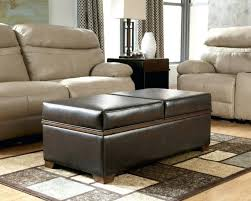 coffee tables mesmerizing white leather ottoman coffee table