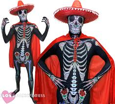 halloween costume mexican skeleton life size skeleton prop decoration halloween fancy dress party