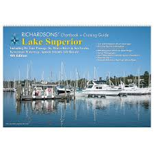 richardsons chartbook and cruising guide lake superior chartbook