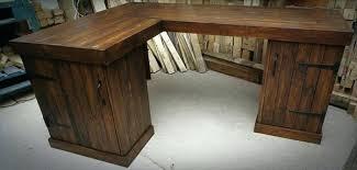 Corner Desk Plan Solid Wood Corner Desk With Hutch Kresofineart
