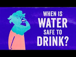 when is water safe to drink nacamulli