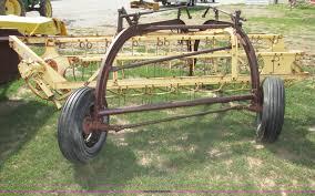 new holland 56 hay rake item f7411 sold july 16 ag equi