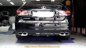 lexus oem performance parts lexus gs460 he u0027art exhaust system youtube