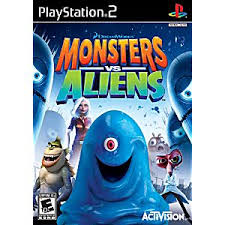 monsters aliens sony playstation 2 game