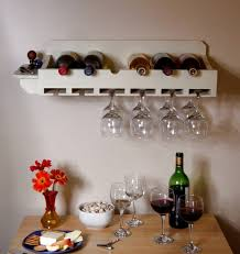 wall mounted wine racks u2013 how to use them as interior decoration