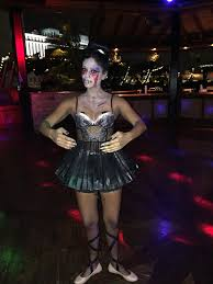 zombie flamingo spirit halloween zombie ballerina costume holidays pinterest ballerina