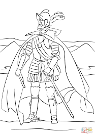 juan de onate coloring page free printable coloring pages