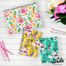 home patterns ninola spring flowers