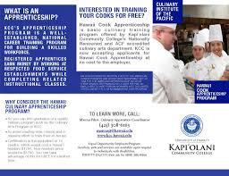 thanksgiving for job offer culinary arts program kapi u0027olani community college