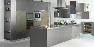 stainless steel l shape modular kitchen manufacturer in india
