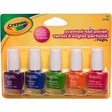 fing u0027rs crayola scented nail polish 0 20 fl oz 5 ct walmart com