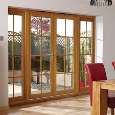 Wooden French Doors Exterior by Nuvu Oak 8 Pane Exterior French Doors With Twin Side Frames Fully