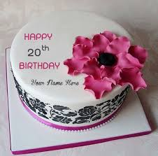 Write Name Wishes Age Birthday Cakes Pictures