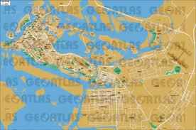 map of abu dabi geoatlas city maps abu dhabi map city illustrator fully