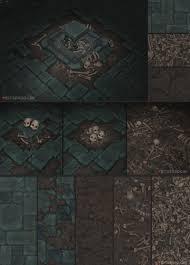 tiling background halloween crypt pack bitgem by antonioneves tile stone grave skeleton