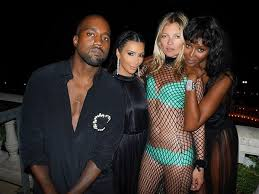 moss and kate moss and cosy up at riccardo tisci s birthday