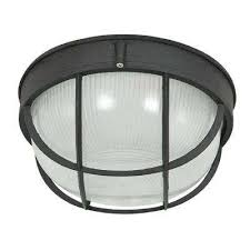bulkhead lights outdoor wall mounted lighting the home depot
