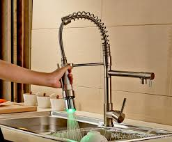kitchen faucet brushed nickel wholesale and retail sale nickel brushed kitchen faucet