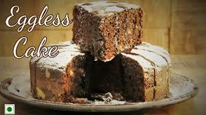 how to make eggless cake in pressure cooker ब न अ ड