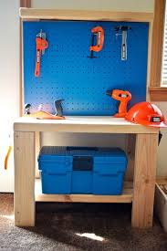 Kids Work Bench Plans The 25 Best Kids Workbench Ideas On Pinterest Kids Tool Bench