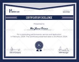 Free Certificate Of Excellence Template 38 Psd Certificate Templates Free Psd Format Free