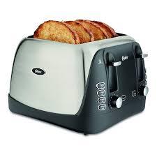 Under Cabinet 4 Slice Toaster Oster 4 Slice Toaster Stainless Steel Tssttrjbs4 Walmart Com
