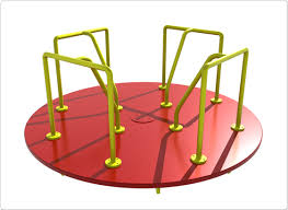 merry go rounds playground audit