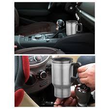 Heated Coffee Mug by 400ml 12v Heated Stainless Steel Travel Car Plug Charger Coffee