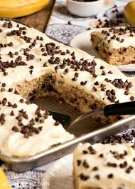 Cream Cheese Frosting Ina Garten by Banana Chocolate Chip Sheet Cake With Cream Cheese Frosting A
