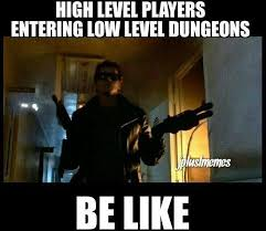 Level Meme - gamer meme 002 low level dungeons comics and memes