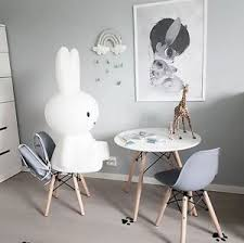 Children S Dining Table Set Of 2 Kids Dsw White Chair With Children U0027s Eames Dining Table