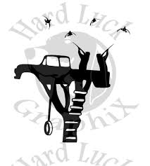 hunting truck decals hunting decals hard luck graphix online store powered by storenvy