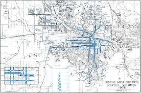 map of oregon eugene evaluation of the eugene bikeways master plan chapter 2 bikeway