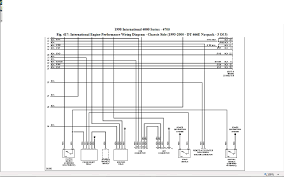 i need pin out for 1807457c1 ecm on dt466 engine in international 4900