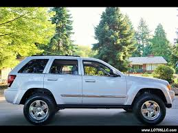 jeep liberty limited lifted 2005 jeep grand cherokee limited 4x4 v8 hemi lifted chrome wheels