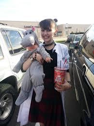 Abby Sciuto Halloween Costume Daughter Dressed Abby Sciuto Bert