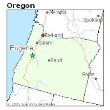 eugene map best places to live in eugene oregon