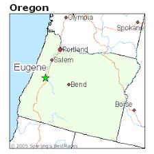 map of oregon eugene best places to live in eugene oregon