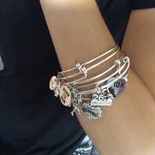 stackable bracelets always me goodnight stainless steel expandable charm bracelet